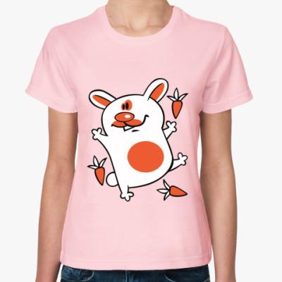 Женская футболка Морковка-парти