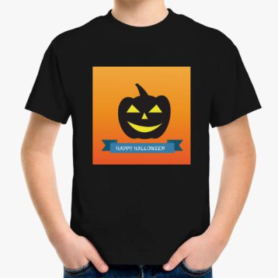 Детская футболка Хэллоуин - Happy Halloween