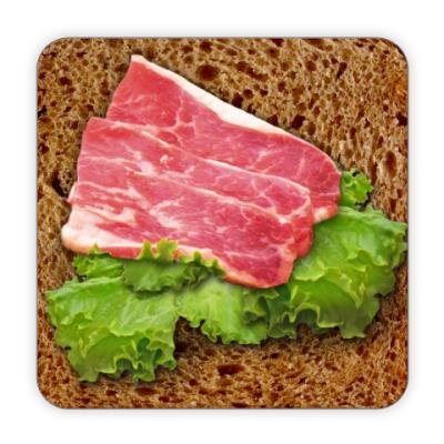Костер (подставка под кружку) Бутерброд