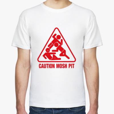 Футболка Caution Mosh Pit