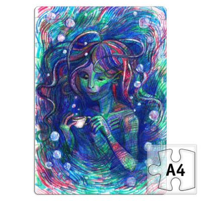 Пазл Русалка Амфибия Mermaid