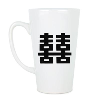 Чашка Латте Двойное счастье