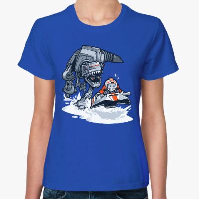 Женская футболка Звездные Войны (Динозавр)