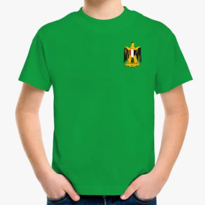 Детская футболка Герб Египта State Emblem of Egypt