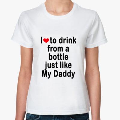 Классическая футболка Daddy