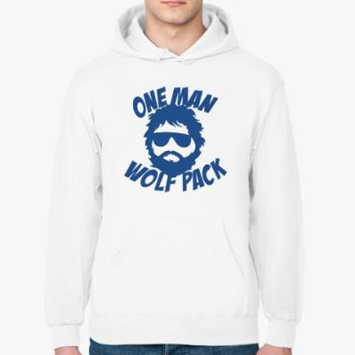 Толстовка худи Wolfpack. Человек-волчья стая.