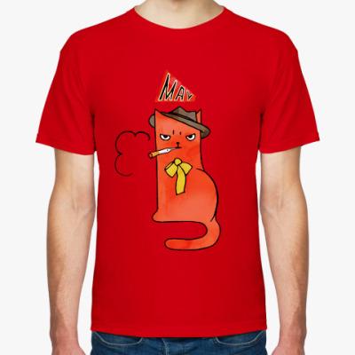 Футболка Мужская футболка Stedman, красная