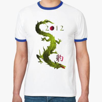 Футболка Ringer-T 2012 дракон
