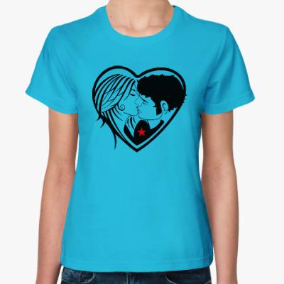 Женская футболка Kiss Forever