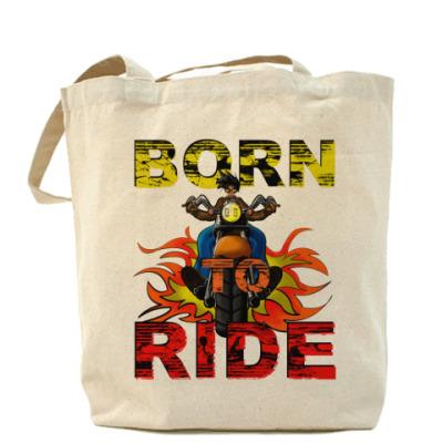 Сумка Born 2 Ride Холщовая сумка