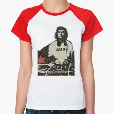 Женская футболка реглан DJ Che
