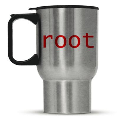 Кружка-термос root (красный)