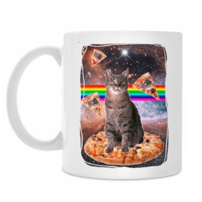Кружка Космический кот