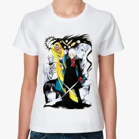 Классическая футболка D Gray Man футболка - Атрибутика для фанов ... d29d1f84356c8
