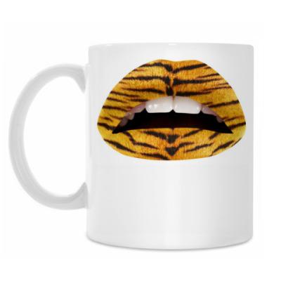 Кружка Тигровые Губы