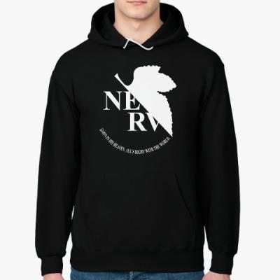 Толстовка худи Neon Genesis Evangelion NERV