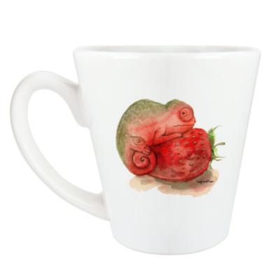 Чашка Латте Хамелеон