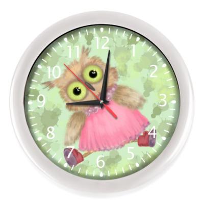 Настенные часы Совушка
