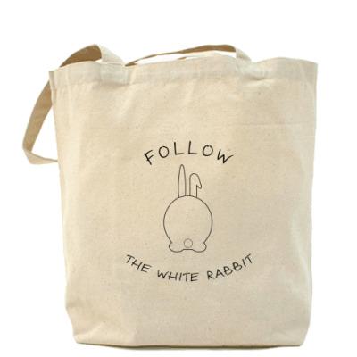 Сумка Следуй за белым кроликом