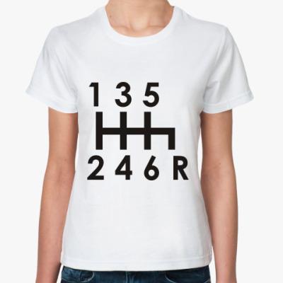 Классическая футболка Коробка передач