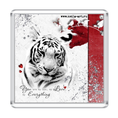 Магнит  Tiger in love