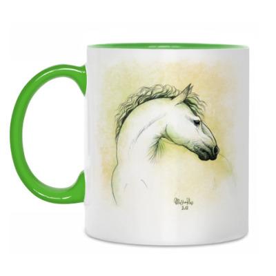 Кружка Весенняя лошадь