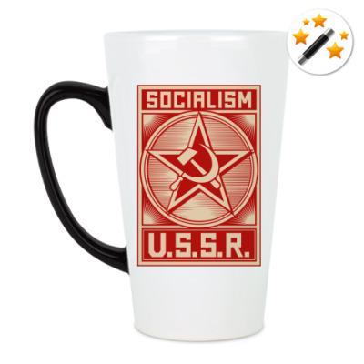 Кружка-хамелеон Советский Союз
