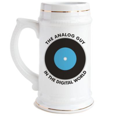 Пивная кружка Analog guy
