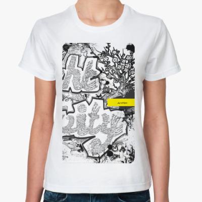 Классическая футболка Newspaper graphic