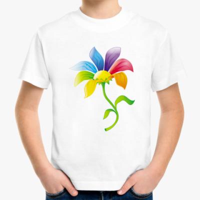 Детская футболка Цветик-семицветик