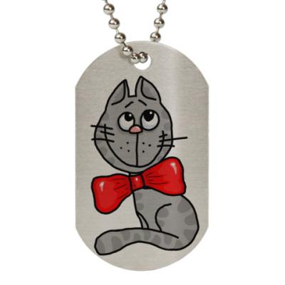 Жетон dog-tag Мой кот!