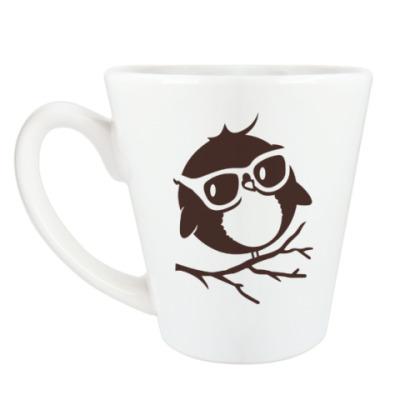 Чашка Латте Совёнок