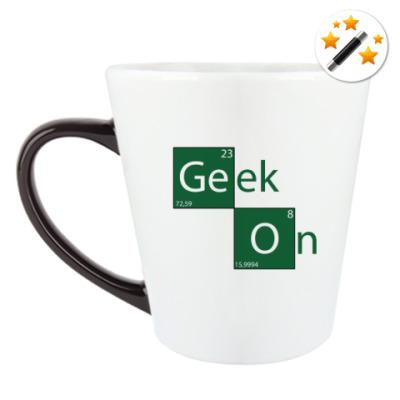 Кружка-хамелеон Geek On