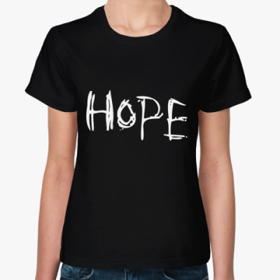 Женская футболка HOPE