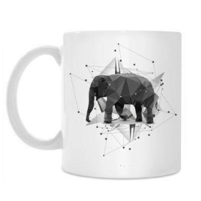 Кружка Геометрический Слон