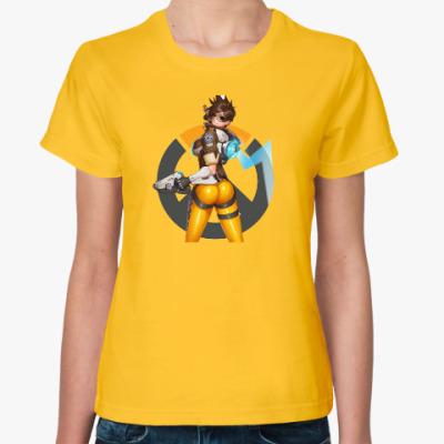 Женская футболка Overwatch (Tracer)
