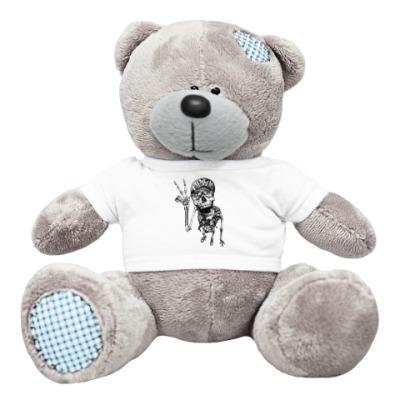 Плюшевый мишка Тедди Thrash-скелет