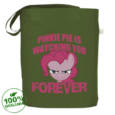 Сумка Пинки Пай наблюдает за тобой