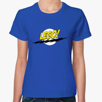 Женская футболка Лего