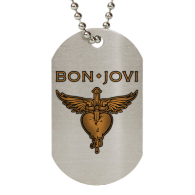 Жетон dog-tag Bon Jovi