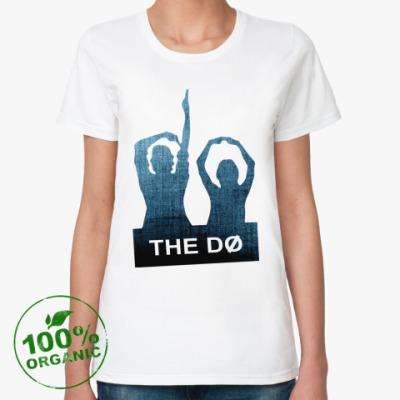 Женская футболка из органик-хлопка The Dø