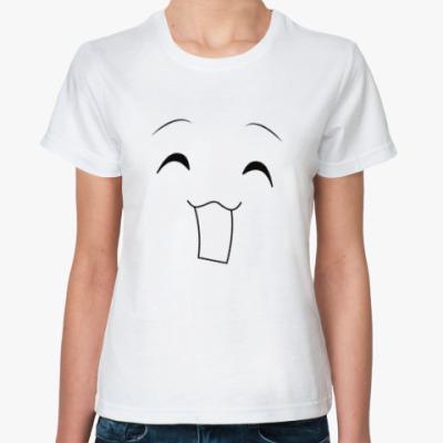 Классическая футболка 'Emotions - Very happy'