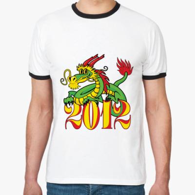 Футболка Ringer-T Дракон 2012
