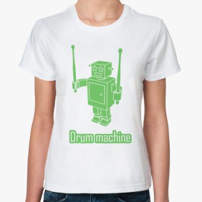 Классическая футболка Drum machine