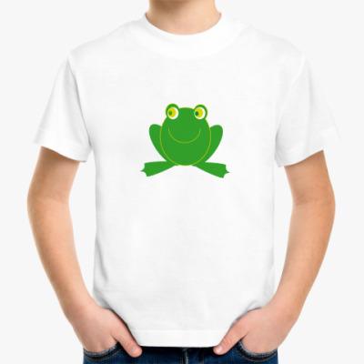 Детская футболка Лягушенок