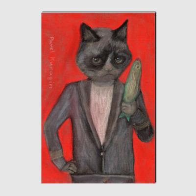 Холст Богатый кот