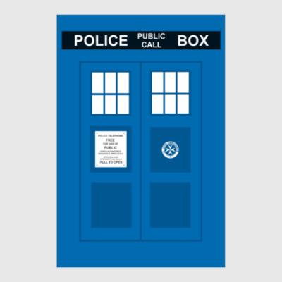 Постер TARDIS