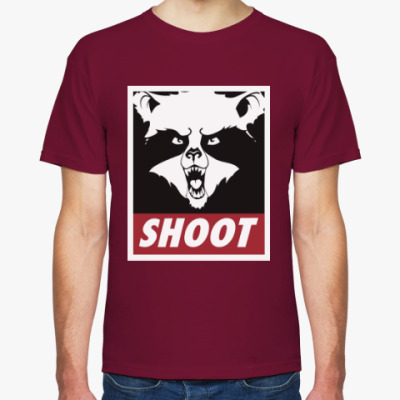 Футболка Raccoon Shoot