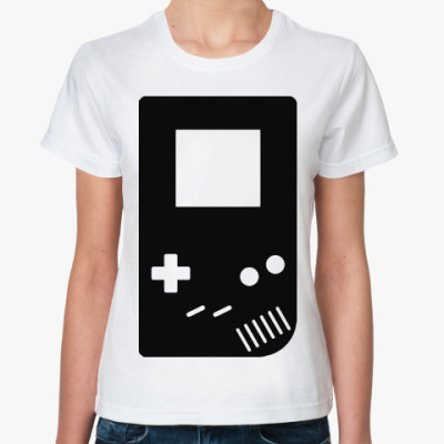Классическая футболка Геймбой