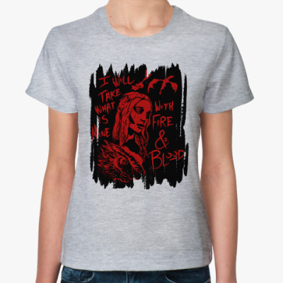 Женская футболка Игра престолов. Кхалиси